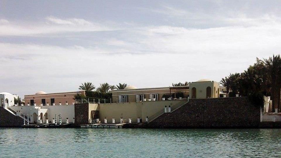 Красивый город с каналами Эль Гуна, расположенный рядом с Хургадой