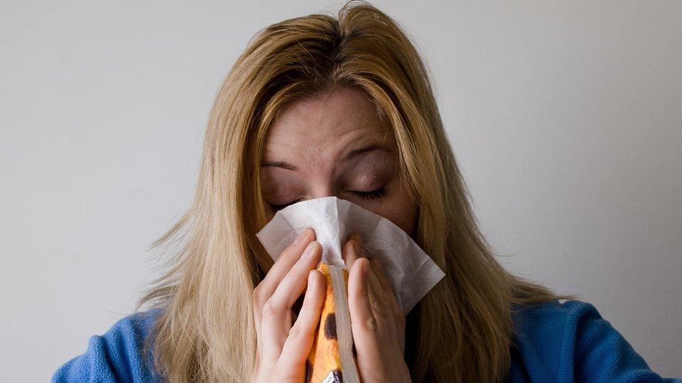 Обильное отделяемое из носа