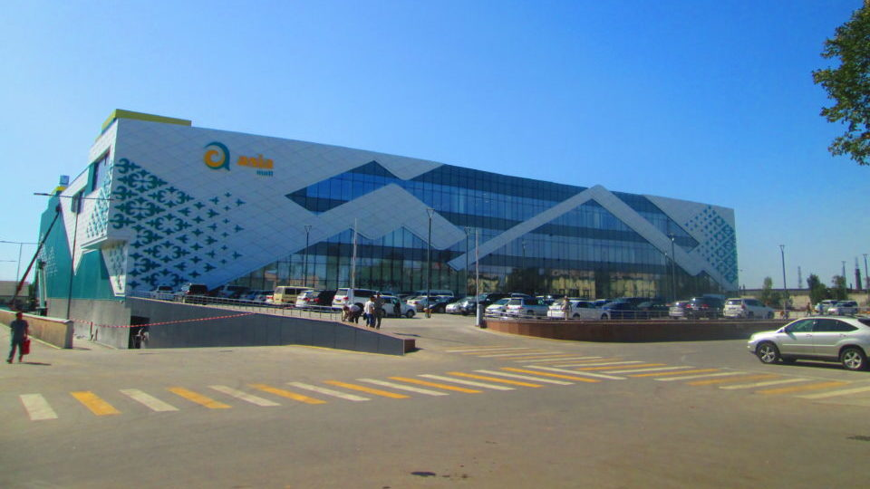 ТРЦ «Asia Mall» на проспекте Ч.Айтматова